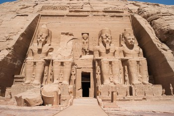 Abu Simble Temples from Aswan by Flight